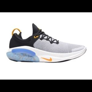 Men's NIKE JOYRIDE RUN FLYKNIT Black Laser Orange